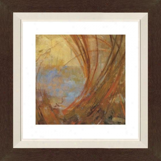 Watermark I Framed Wall Art  -I, Flt Anq Wln/gld