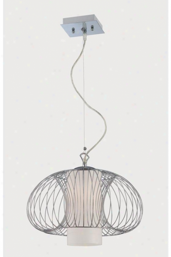 """waverly Chandelier - 62h X 15.5""""w, Silver Chrome"""
