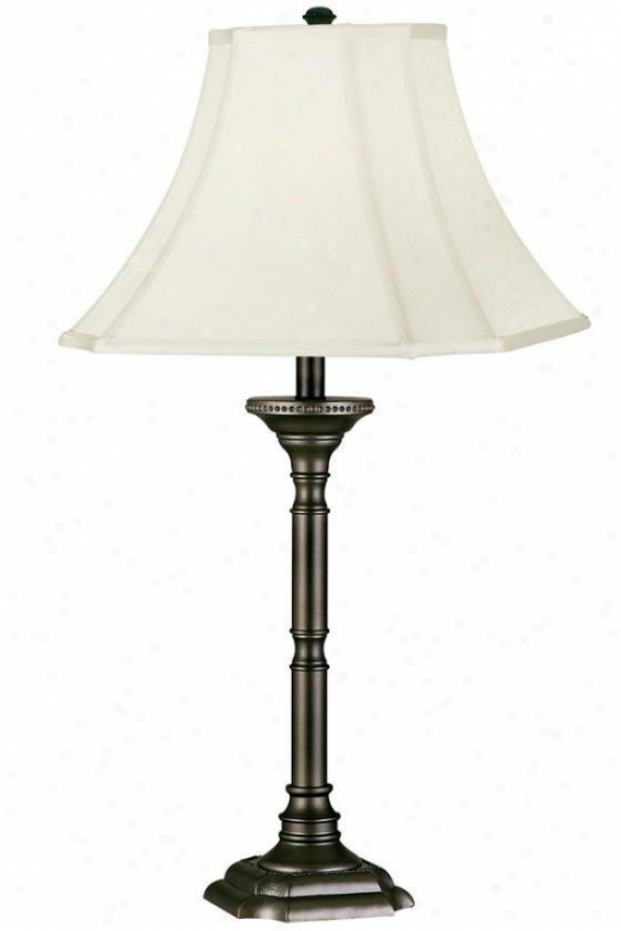 """wentworth Table Lamp - 31""""h, Brown"""
