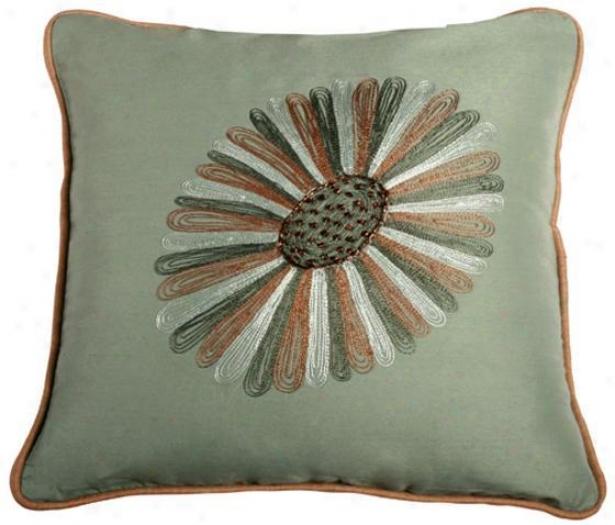 Westlake Pillow - 18x18, Teal