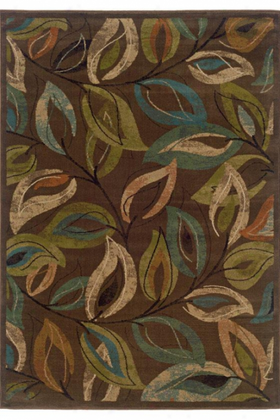 Whirlwind Ii Area Rug - 10'x13', Brown