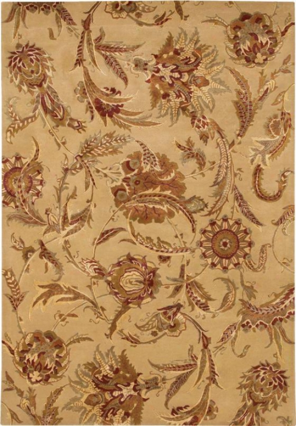 """""""wild Orchids Area Rug - 3'6""""""""x5'6"""""""", Ivory"""""""