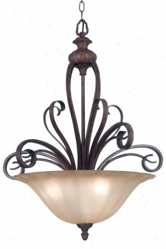 Wilkshire Pendant - 3-light, Copper Bronze
