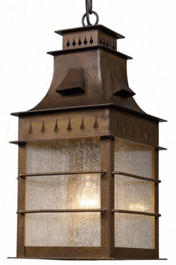 """williamsburg Outdoor Pendant - 18""""hx18""""w, Coffee Bronze"""