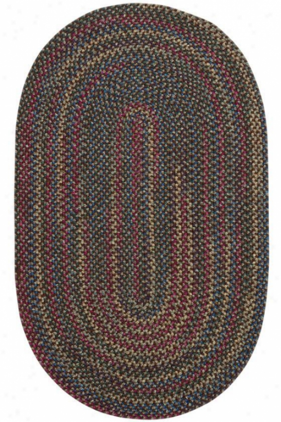 """winchester Wool Blend Area Rug - 3'6""""x5'6"""", Coffee"""