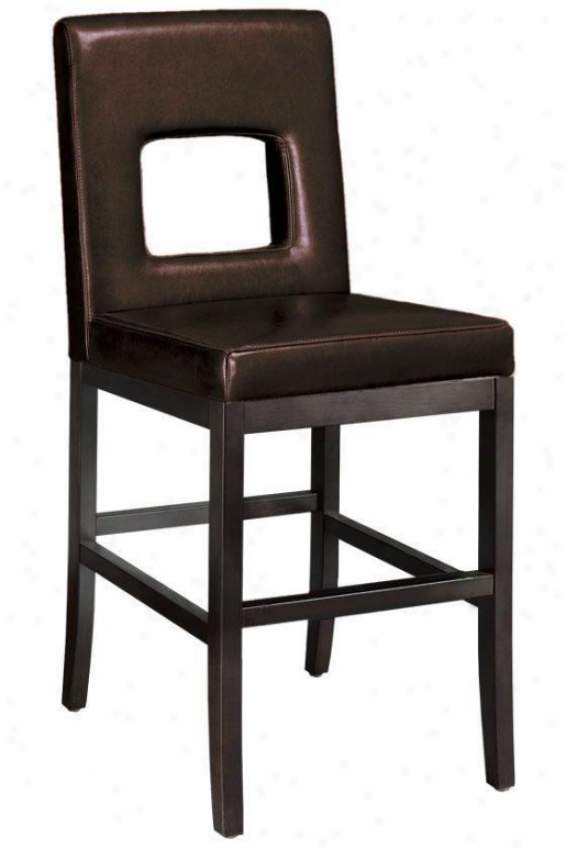 """window Counter Stool - 40.5""""h, Browh"""
