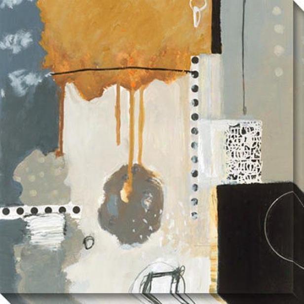Wing Machine Ii Canvas Wall Art - Ii, Black