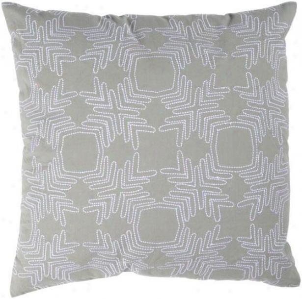 """""""winthrop Pillow - 18""""""""x18"""""""", Gray"""""""