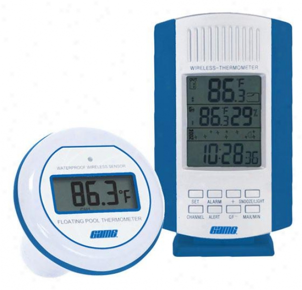 Wireless Digital Pool Thermometer & Sensor - One Size, Multi
