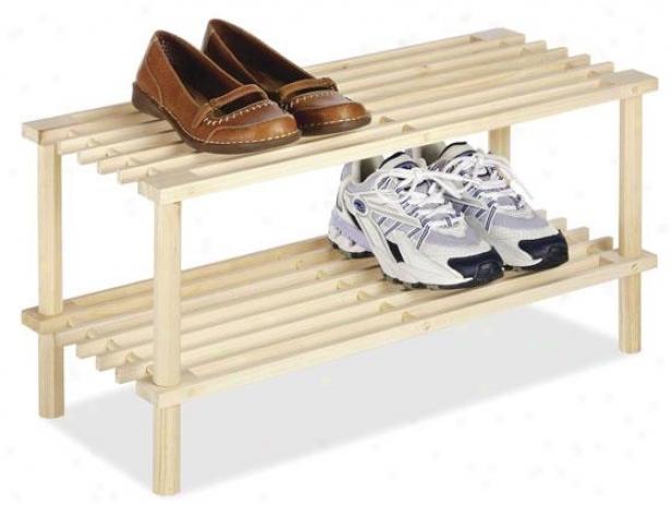 """wood Household Shelves - 12""""hx25""""wx10""""d, Ivory"""