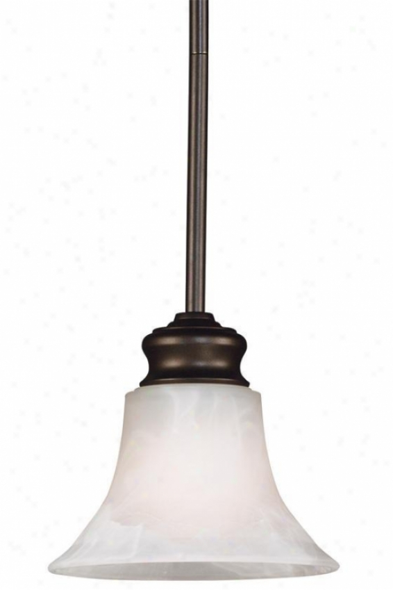 """""""wynwood 1-light Mini Pendant - 51""""""""h, Brown"""""""
