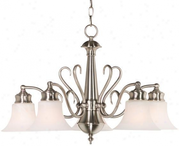 """wynwood 5-light Chandelier - 17""""h, Grey Steep"""