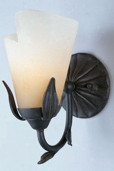 """yuma Wall Sconce - 10""""hx6""""w, Gold Bronze"""