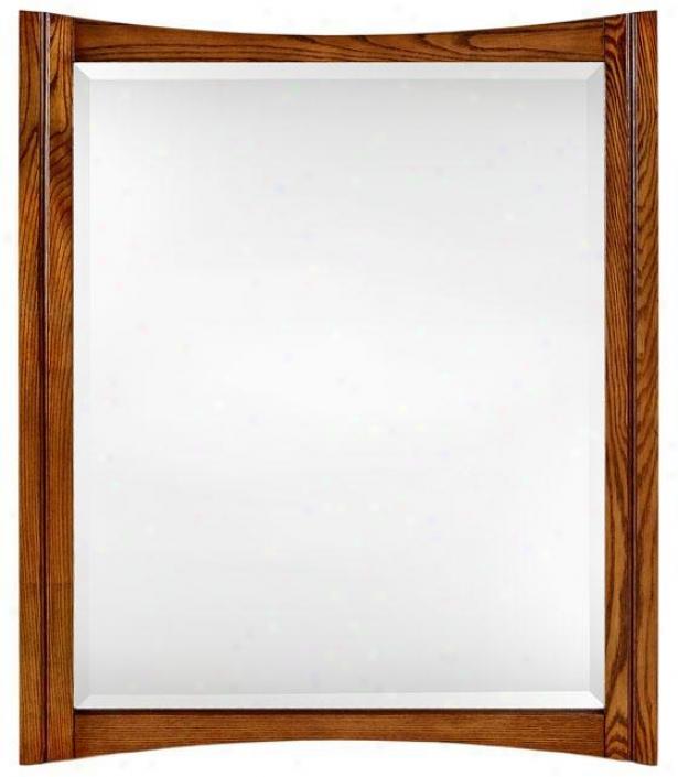 """""""zen Mirror - 34""""""""hx28""""""""w, Tan"""""""