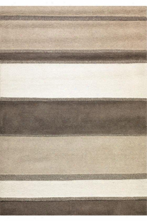"""zone Area Rug Ii - 2'2""""x7'9"""", White"""