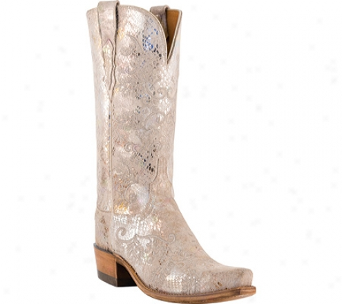1883 By Lucchese N4715-s54 (women's) - Stone Python Print