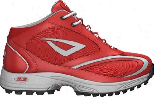 3n2 Momentum Trainer Mid (men's) - Red