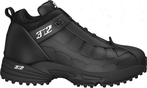 3n2 Pro Tur Trainer Mid (mens) - Black/black
