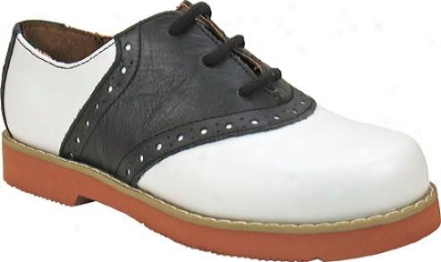Academie Gear Spirit (girls') - White/black Leather