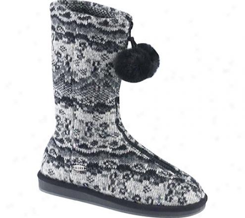 Acorn Breton Zip Boot (women's) - Cinder