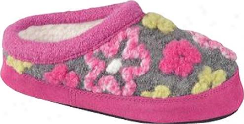 Acorn Daisy Mule (infants') - Winter Pink
