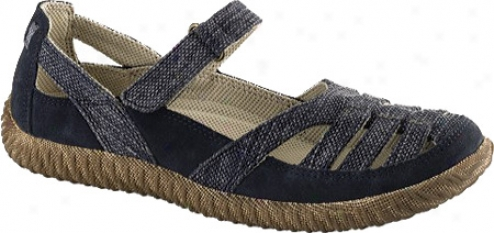 Acorn Earthroamer Mary Jane (women's) - Indigo Canvas