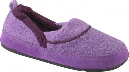 Acorn Emma Moc (women's) - Purple Wool