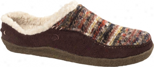 Acorn Ilsa (women's) - Java Stripe Wool