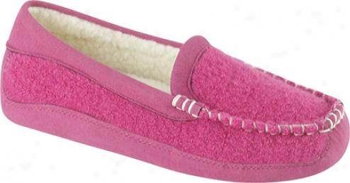 Acorn Lexi Moc (women's) - Winter Pink Wool
