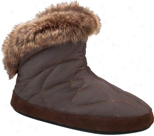 Acorn Parka Bootie (women's) - Chocolate