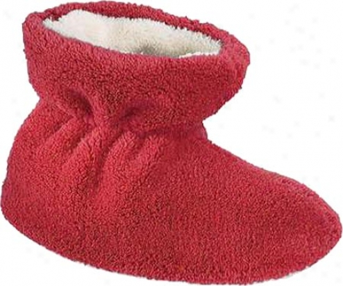 Acorn Spa Terry Bootie (infants') - Scarlet Terry