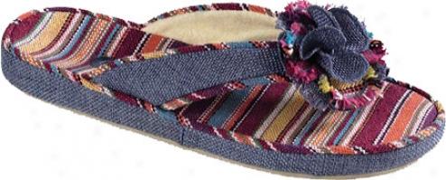 Acorn Wildflower Thong (women's) - Lapis Wovrn