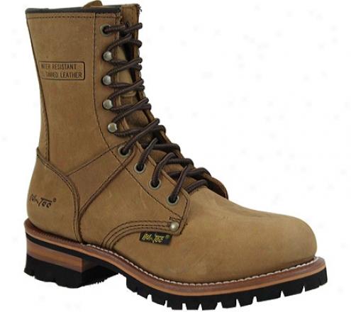 """adtec 2427 Logger Boots 9"""" (women's) - Brown"""