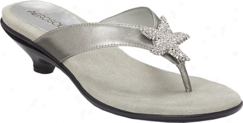 Aerosoles Adorable (women's) - Silver Metallic