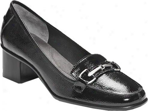 Aerosoles Linguini (women's) - Black Patent