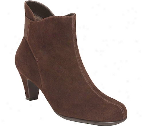 Aerosoles Playlist (women's) - Dark Brown Suede