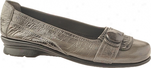 Aerosoles Raspberry (women's) - Dark Grey Leather
