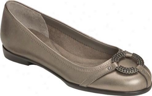 Aerosoles Rebecca (women's) - Nickel Leather