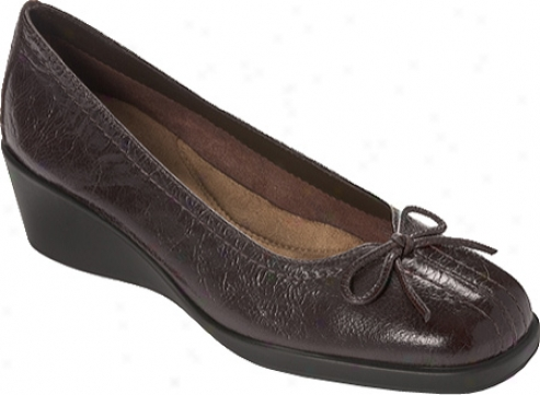 Aerosoles Tempire State (women's) - Dark Brown Leather