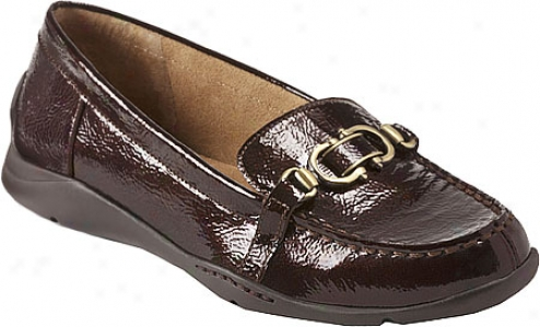 Aerosoles Volatile (women's) - Dark Brown Patent Leather