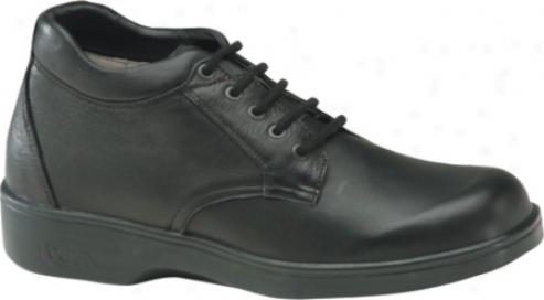 Aetrex Ambulator Biomechanical Boot (men's) - Black Smooth Leather