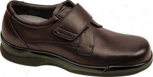 Aetrex Ambulator Biomechanical Single Strap (men's) - Brown Leather