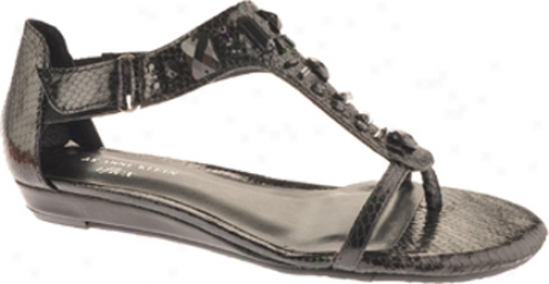 Ak Anne Klein Alesia (women's) - Black Synthetic