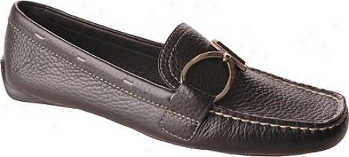 Ak Anne Klein Davis (women's) - Black Leather