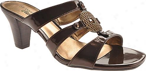 Ak Anne Klein Hickory 3 (women's) - Dark Bronze Synthetic