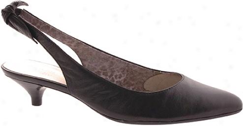 Ak Anne Klein Pipa (women's) - Bkack Leather