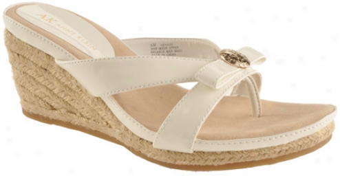 Ak Anne Klein Poisy (women's) - White Synthetic