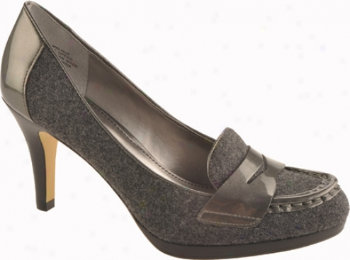 Ak Anne Klein Walnut (women's) - Grey/grey Fabric
