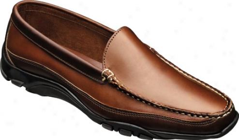 Allen-edmonds Boulder (men's) - Tan Leather/brown Trim