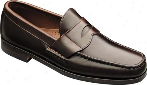 Allen-edmonds Burke (men's) - Brown Smooth Calf/brown Calf Trim